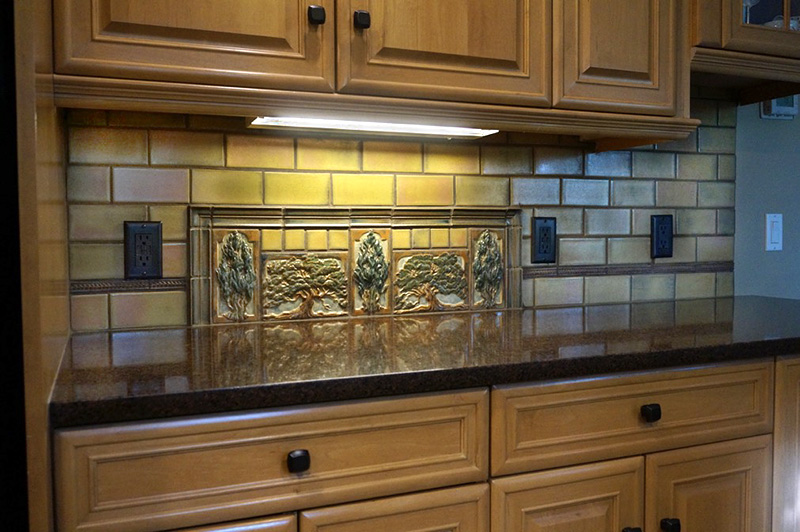 Arts And Crafts Kitchen Backsplash