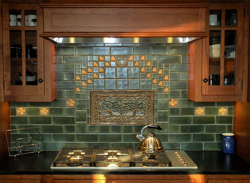 Craftsman Kitchen Tile Backsplash
